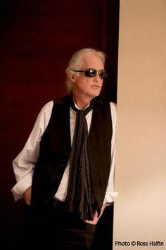 Jimmy Page - Silver fox!