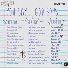 Bible Study Discover add a caption shared by Debzouche on We Heart It Image discovered by Debzouche. Find images and videos about love god and faith on We Heart It - the app to get lost in what you love. Bible Study Notebook, Bible Study Journal, Scripture Study, Bible Verses Quotes, Bible Scriptures, Faith Quotes, Life Quotes, Bible Journaling For Beginners, Healing Scriptures