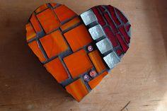Heart trinket box by WinterCreek Mosaics, via Flickr
