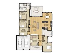 Floor Plan Friday: Fireplace, Alfresco and 4 bedrooms
