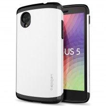 Forro SGP Spigen Nexus 5 - Slim Armor Infinity White  $ 66.951,26