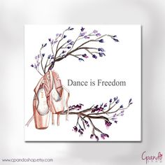 Artprint Dance is freedom (jpg image 300dpi 8.26*8.26 in)
