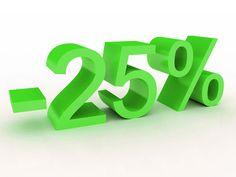25% dto. en todos nuestros tratamientos