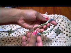 Juego de baño (Parte 2 de 3): Cubierta del tanque - Tutorial de tejido crochet