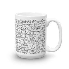 Math Equation Cool Quadratic Formula Geek Nerd Coffee Mug