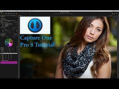 Capture One Pro 8 Tutorial   Portrait Retouching Basics Part 1 - YouTube