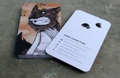 Business Card by Anna Johnstone