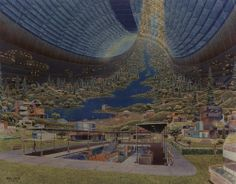 The paradise of space colonization