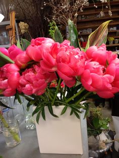 Peonies--must have in bouquet