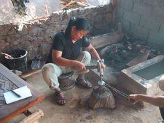 Akha silversmithing | Tien Chiu