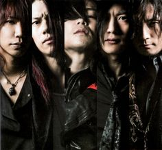 Dir en Grey. Unraveling new look. Very large pic.