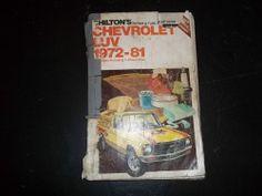 Chilton's Repair & Tune-up Guide Chevrolet Luv 1972-81