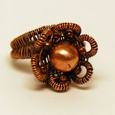 Copper Flower Ring | Flickr - Photo Sharing!