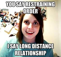 I can't believe I forgot all about the Overly Attached Girlfriend meme! Or how come call it the crazy girlfriend meme. This is a classic meme that will live Clingy Girlfriend, Overly Attached Girlfriend, Crazy Girlfriend, Psycho Girlfriend, Girlfriend Song, Overprotective Girlfriend, Girlfriend Birthday, Overly Obsessed Girlfriend, Schmuck