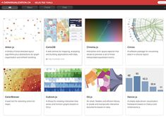 Datavisualization.ch has created an excellent list of packages, libraries, and data visualization frameworks for creating more complex and interactive visualizations using your own data sets and dev environments.