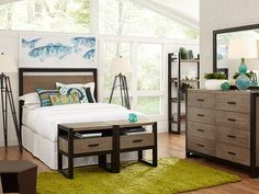 Sophisticated and simple design make the Helix bedroom a luxurious place to relax.