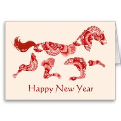 Horse Zodiac Cream Chinese New Year Card we are given they also recommend where is the best to buyShopping          	Horse Zodiac Cream Chinese New Year Card Here a great deal...