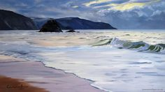 The Black Rock by Lawrence Dyer is a limited edition art print limited to 195 in number.'The Black Rock' is a scene at Widemouth Bay,…