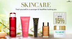 Beautiful skin starts with the right care. #facecare #bodycare #suncare #skincaregiftsets