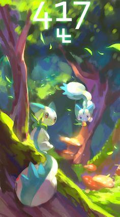 Pachirisu - Pokemon via pixiv #Nintendo #Pokemon