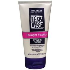 Leave-in John Frieda Frizz-Ease Unwind Curls Leave In, Brazilian Keratin Therapy, Sephora, Puffy Hair, Hair Balm, Frizz Control, Perfume, Olive Fruit, Damp Hair Styles