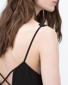 DOUBLE STRAP WRAP DRESS - View all - Dresses - WOMAN | ZARA United States