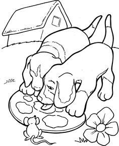 honden kleurplaat strawberry shortcakecoloring pages templatesdrawingsdogsembroidery