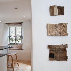 weavings by Susie Gillespie and photo by Paul Biddle