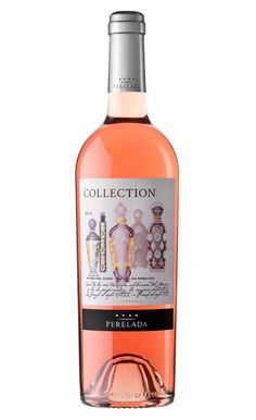 Nuevo Perelada Collection Rosé. Wine Packaging, Wine Design, Hot Shots, Top Wines, Wine Labels, Caves, Bottle, Rose, Collection