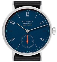 "Nomos Neomatik Nachtblau Watches - by Jack Wagner - With cool midnight-blue dials and the DUW 3001, these new Neomatiks are quite the package. More at: aBlogtoWatch.com - ""German watch manufacturer Nomos has just released three models of its Neomatik line of watches with nachtblau (midnight blue) dials. The Tangente Neomatik Nachtblau, the Metro Neomatik Nachtblau, and the Minimatik Nachtblau will join the Tetra Neomatik Nachtblau in this midnight blue series of watches..."""