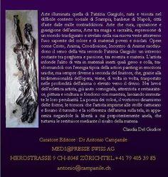 Claudia Del Giudice per Patrizia Gargiulo - taumaturgico colore