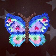 Butterfly hama beads by majbrit_t