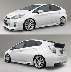 Toyota Prius in white or black. The 50 mpg and how eco-friendly it is really makes me want to get it. Never thought I could afford a hybrid...will make me feel like I'm doing something good.  Also...Ty already has a gas guzzler. lol.