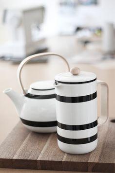 Kähler Design tea and coffee pot Kitchenware, Tableware, Little Corner, Decoration Design, Porcelain Ceramics, Danish Design, Scandinavian Design, Scandinavian Living, Afternoon Tea