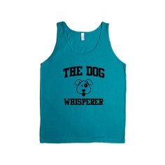 The Dog Whisperer Doggies Doggie Dogs Pup Puppies Puppy Pet Pets Mutt Mutts Animals Animal Lover SGAL1 Men's Tank