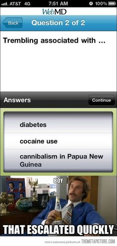 If you browse Web MD, GET HELP
