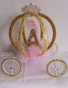 Carro de Cenicienta quinceañera torta de bodas por DollyDollz