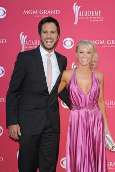 Luke Bryan and his beautiful wife, whom I out-boob on every level. Luke Bryan Wife, Pretty People, Beautiful People, Caroline Bryan, Mgm Grand Las Vegas, Shake It For Me, Cmt Music Awards, Entertainer Of The Year, Academy Of Country Music