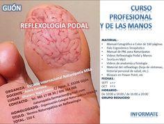 GIJON: Curso Profesional de Reflexología Podal y de las Manos | Escuela Internacional Naturopatia M.R.A.