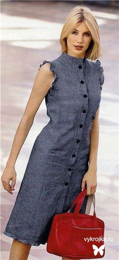 Dress Pattern love the sleeves