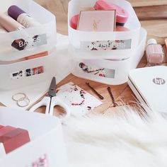 No more makeup mixups... I printed some cute labels with my HP Sprocket printer so now my collection is super organised! @hpeurope #partner