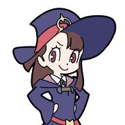 Little Witch Academia by studio TRIGGER is finally available on LINE STORE! Add some magic to your chat with Akko and her friends!