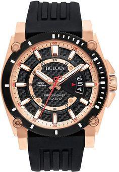 86c20e0800c Bulova Men s Precisionist Watch - 98B152