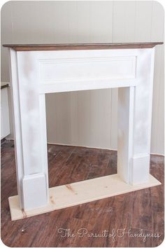 DIY for in front of the fire place so we will have a mantle Diy Faux Fireplace -… DIY für vor dem Kamin, damit wir einen Mantel Diy Faux Kamin haben Faux Fireplace Mantels, Fireplace Surrounds, Mantles, Fake Mantle, Limestone Fireplace, Victorian Fireplace, Concrete Fireplace, Open Fireplace, Handmade Home Decor