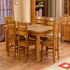 wooden dining tables - Buscar con Google