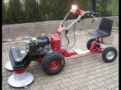 Yard Tractors, Small Tractors, Wheel Horse Tractor, Go Kart Plans, Water Well Drilling, Adult Tricycle, Play Vehicles, Lawn Equipment, Engine Repair