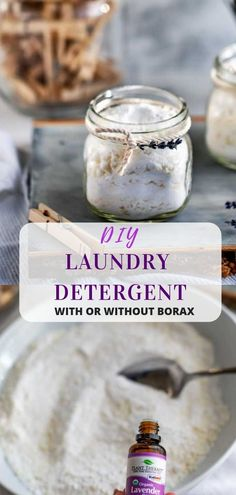 DIY Laundry Detergent Looking for the best, safe and natural DIY detergent with essential oils? This simple powder recipe smells so good, is non-toxic and can be made with or without borax. (I also have a recipe for liquid soap! Laundry Detergent Recipe, Powder Laundry Detergent, Homemade Laundry Detergent, Homemade Laundry Soap, Best Natural Laundry Detergent, Borax Laundry, Laundry Powder, Essential Oils For Laundry, Bunting