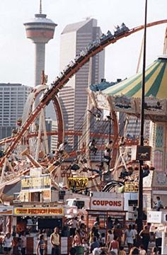 Calgary Stampede Midway I visited here during the mid 70's also, driving back from Anchorage, Alaska