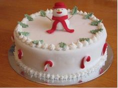 christmas cakes pictures | Christmas Cakes