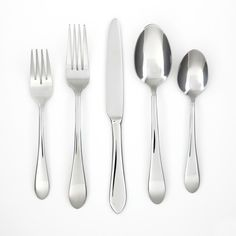 Cambridge 'Sienna' 65-piece Flatware Set ($59) ❤ liked on Polyvore featuring home, kitchen & dining, flatware, silver, serving fork, cambridge silversmiths flatware, colored flatware, flatware service and slotted serving spoon